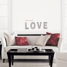 Norwall Black Lettering Love Topography Peel And Stick Wall Decals 2 Sheets P21007d The Home Depot