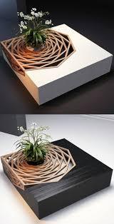 Couchtisch Holz Weiß Modern