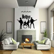 Beatles 3 Music Vinyl Wall Decal Wall Mural Vinyl Stickers Swd