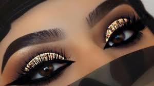 dramatic smokey eye makeup tutorial for