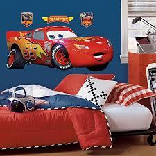 Cars Wall Decals Decor Stickers Kids Toddler Room Nursery Boy Disney Pixar New