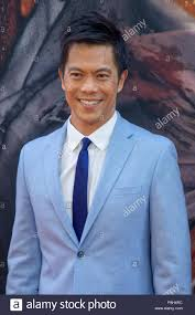 """Actor Byron Mann attends the New York premiere of """"Skyscraper"""" on ..."""