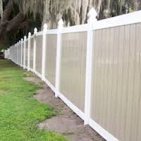 Vinyl Fences Best Fence Rail Of Florida