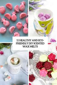 eco friendly diy scented wax melts