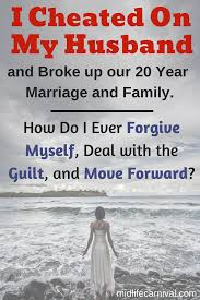 after having an affair how do you ease