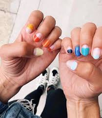 half dip nails are the new way to do