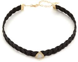 jacquie aiche moonstone braided leather
