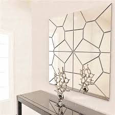 7pcs Moire Pattern Mirrors Removable Decal Art Wall Sticker Home Decor Mirror Decals Wall Stickers For Living Room Deco Buy At The Price Of 1 77 In Aliexpress Com Imall Com