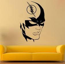 Flash Vinyl Decal The Flash Wall Sticker Comics Stickers Wall Vinyl Decor 7gsx The Flash Wall Vinyl Decor Fan Poster