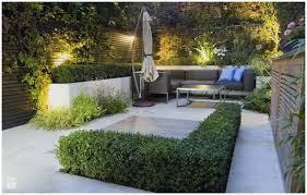 steep terraced landscape patio garden