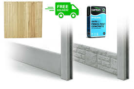 Garden Fencing Complete Kits Lincolnshire Landscaping Supplies Ltd