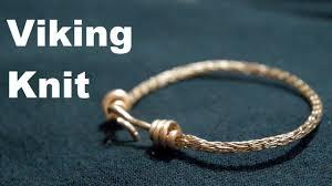 viking weave copper bracelet making