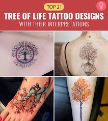 top 21 tree of life tattoo designs with