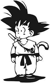 Amazon Com Kid Goku Dragon Ball Z Dbz Anime Vinly Decal Sticker For Cars Laptops Window 2 3 X 4 0 Arts Crafts Sewing