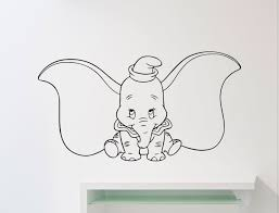 Dumbo Elephant Wall Vinyl Decal Disney C Buy Online In Guyana At Desertcart