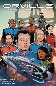 Orville Season 1.5 New Beginnings GN David Goodman Word of Avis Fox TV New  NM 9781506711348 | eBay
