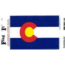 Colorado Flag Decal For Auto Truck Or Boat Walmart Com Walmart Com