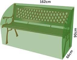 asab 3 seater heavy duty garden bench