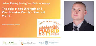 """Strength & Conditioning Society (SCS) on Twitter: """"🚨SPEAKER🚨 Directly  from the @NBA, Adam Petway will be in #SCSMadrid2019. Lead biomechanist and  S&C specialist from the @sixers, Adam is a 🔝 practitioner involved"""