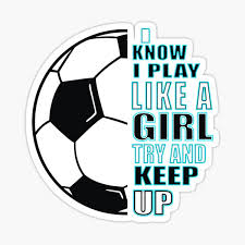 Girls Soccer Stickers Redbubble