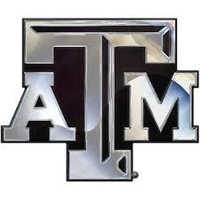 Texas A M University Car Decals Decal Sets Texas A M Aggies Car Decal C Secstore Com