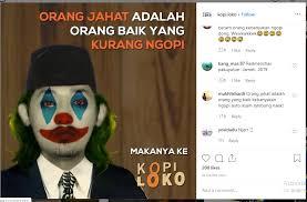 meme joker instagram paling lucu apa saja itu