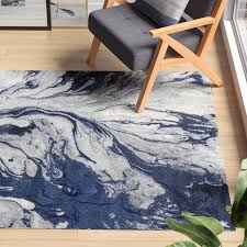 kaia abstract blue area rug area rugs