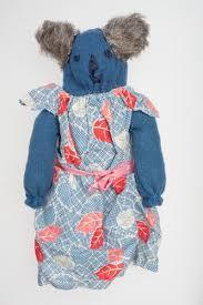 Koala - Ada Perry, Blue Felt, circa 1930s-1960s
