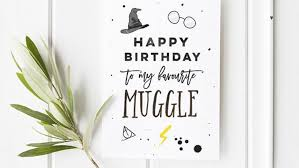 harry potter inspired birthday and greeting cards everyone will