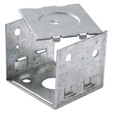 Handiy Products 10 X 10 X 10cm Post Support U Bracket And Flat Plate