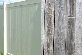 Vinyl Vs Wood Fence Color Fading