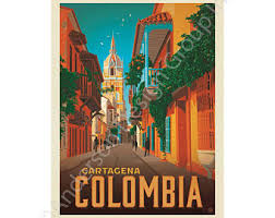Colombia Car Decal Etsy