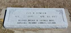 Iva Blair Fowler (1899-1977) - Find A Grave Memorial