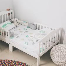 organic cotton crib bedding set gift