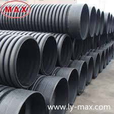 large diameter hdpe corrugated pipe