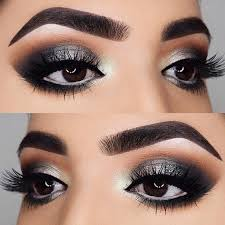the beauty of dark brown eyes is