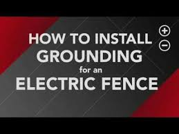 How To Install Ground Rods For Your Electric Fence Youtube