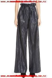womens eve wide leg faux leather pants