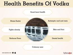benefits of vodka and its side effects