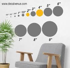 Pink Metallic Gold Polka Dot Circles Wall Decals Polka Dot Circles Decalvenue Com Decal Venue