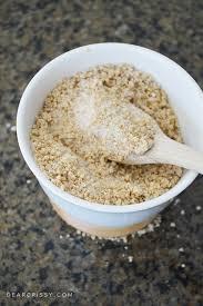 diy honey oat epsom salt soak recipe