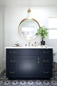 appealing large round bathroom mirror