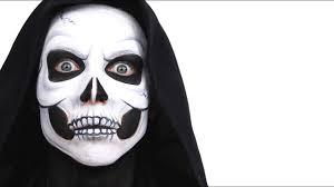 halloween advanced skull face paint
