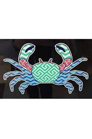 Large Car Decal Crab Shop Whimsicality