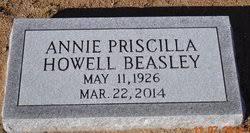 Annie Priscilla Howell Beasley (1926-2014) - Find A Grave Memorial