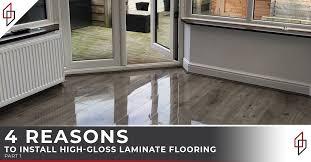 high gloss laminate flooring 4 reasons