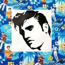 Elvis Presley Car Decal Elvis Presley Decal Elvis Presley Etsy