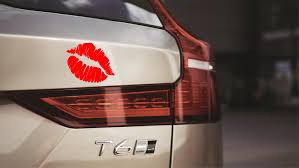 Cute Lipstick Lips Car Decal Sticker Laptop Tablet Lip Etsy
