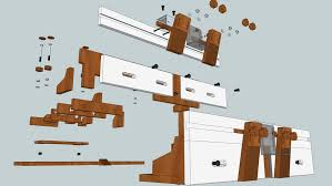 Home Made Router Table Fence 3d Warehouse