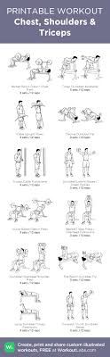workouts chest shoulders triceps